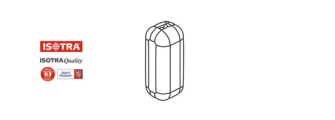 spojka řetízku žaluzie - bílá