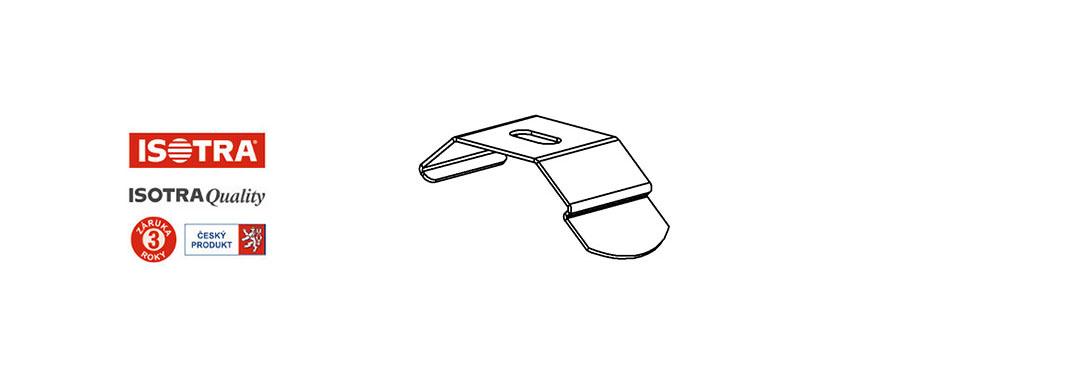 clip horního nosiče vertikální žaluzie
