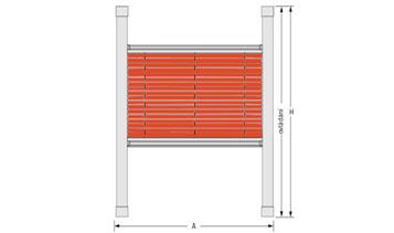 Plisse typ DFC 20 pro okno VELUX GGU - M08 (výrobce ISOTRA a.s.)