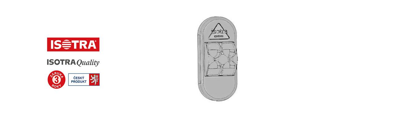 držák řetízku hit II-univerzální, stříbrný