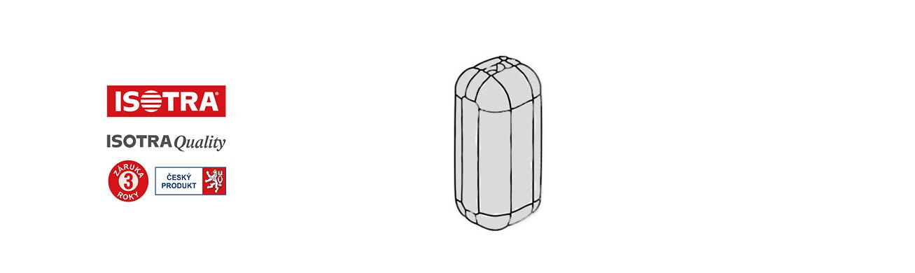 spojka řetízku žaluzie- stříbrná